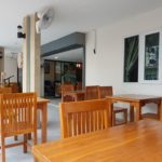 Dining area of Quality Budget price Hotel rooms & massage @ Karon Beach Phuket Thailand