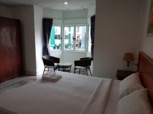 Welcome inn hotel deluxe double room @ Karon Beach Phuket Thailand accepting Bitcoin as rental payments.